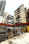 Construction site in Hong Kong — Foto de Stock