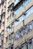 Hong kong eski daireler — Stok fotoğraf