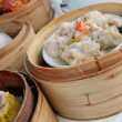 Chinese dim sum food - Stock Photo