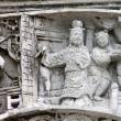 Stock Photo: Chinese carvings in Hong Kong