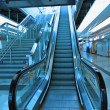 Stairs in train station — Stock Photo