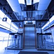 Elevator in train station — Stock Photo