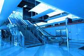 Schody v nádraží — Stock fotografie