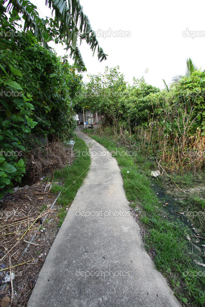 Path in village of Hong Kong — Stock Photo #9130756