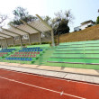 Stadium seats and running track — Stock Photo #9141908