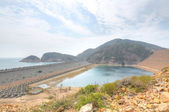 Coastal landscape in Hong Kong Geo Park — Stock Photo