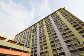 Packed Hong Kong public housing estate — Stockfoto