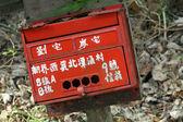Chinese post box — Stock Photo