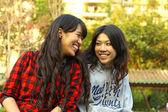 Asian friends — Stock Photo