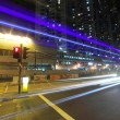 Traffic in city at night — Stock Photo #9261530