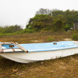 Single boat on ground — Stock Photo #9337330