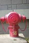 A fire hydrant — Stock Photo