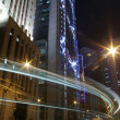 Stock Photo: Night traffic in Hong Kong