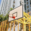 Basketball court in abstract view — Stock Photo #9396646