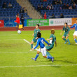 East Asian Games of football match - Macau vs Japan in Hong Kong — Stock Photo #9397576