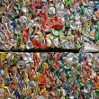 Recycling cans — Stock Photo