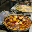 Fish balls in Cheung Chau, Hong Kong. — Stock Photo