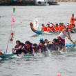 Dragon boat race in Hong Kong — Stock Photo #9399808