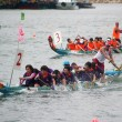 Dragon boat race in Hong Kong — Stock Photo