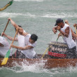 Dragon boat race in Hong Kong — Foto Stock
