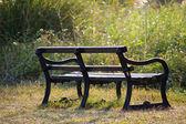 стулья в сельской местности под солнцем — Стоковое фото