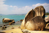 Beach in Sanya, Hainan, China. — Stock Photo