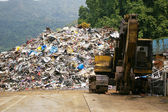 Återvinning fabriken — Stockfoto