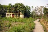 Caminho na aldeia de hong kong — Fotografia Stock