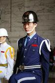 ändra vakt i taiwan — Stockfoto