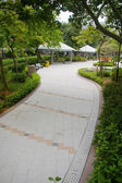 Path in a park — Stock Photo