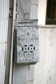 Rusted postbox — Foto Stock