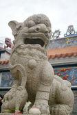 Statue de lion chinois — Photo