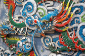 Chinese dragon background — Stock Photo