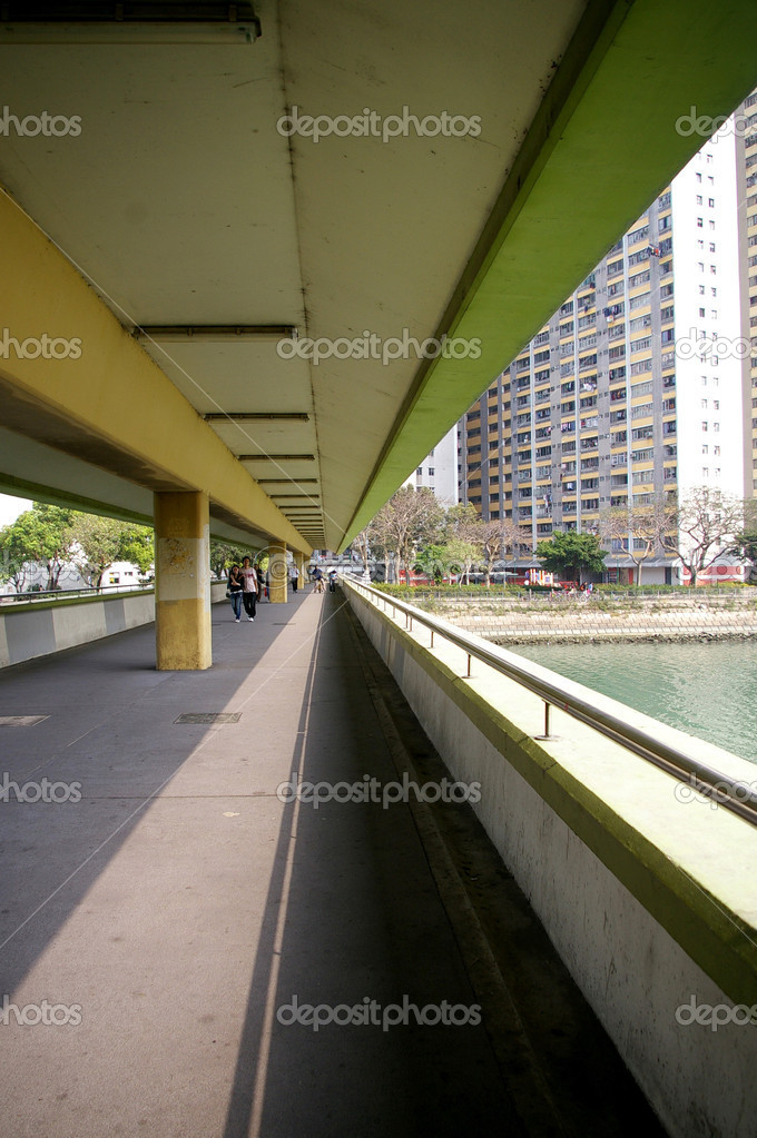 Footbridge at day — Stock Photo #9398039
