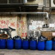 Dirty street in Hong Kong — Stock Photo #9798392