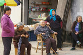 A group of Chinese old woman in Nanxun, China. — Stock Photo