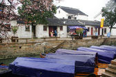 Aldea agua tonglin en china — Foto de Stock