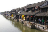 Xitang water village in China — Stock Photo