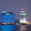 Xiamen downtown district night view in China — Stock Photo #9858781