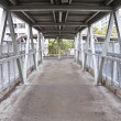 Footbridge in the city — Stock Photo