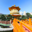 The Pavilion of Absolute Perfection in the Nan Lian Garden, Hong — Stock Photo #9924501