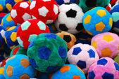 Soccer Balls — Stockfoto