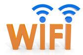 Koncepcja wifi. — Zdjęcie stockowe