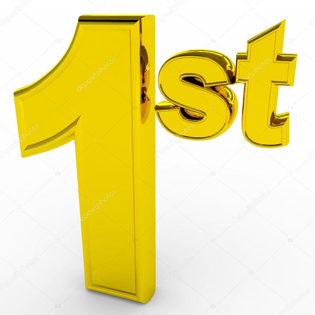 1st Place Gols Sign Stock Photo 169 Kovaleff 9201867