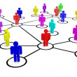Business or social network. Concept. — Stock Photo #9271222