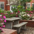 Постер, плакат: University of Florida Griffin Floyd Hall Courtyard