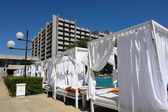 The hotel on the Golden Sands. Bulgaria. — Stock Photo