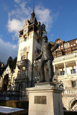 The monument in Sinaia — Stock Photo