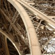 Royalty-Free Stock Photo: The Eiffel Tower framework .