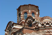 The church in Nessebar. Bulgaria. Sunny Beach. — Stock fotografie
